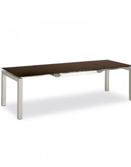 Calligaris Connubia Airport Glass Extending Table
