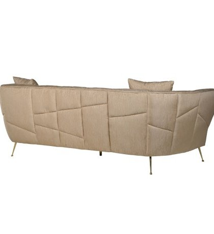Den Golden Brown 3 Seater