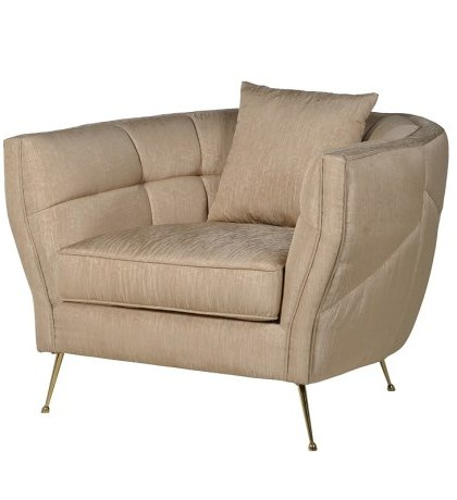 Den Golden Brown Easy Chair