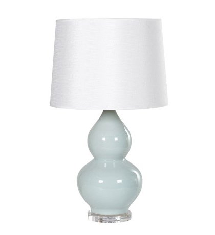Den Living Teal Lamp