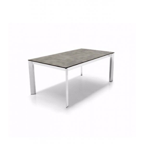 Calligaris connubia baron ml 110 extending table den living for Calligaris baron table