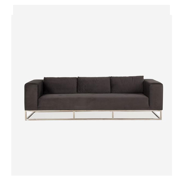 Andrew Martin -Skyla Sofa Product Height:68 (cm )Product Width:250 (cm) Product Depth: 98.5 (cm) Seat Height:44 (cm) Arm Height:68 (cm) Weight: 69 (kg)