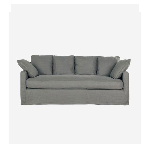 Andrew Martin - Inigo Sofa. Product Height:85 (cm) Product Width:200 (cm) Product Depth: 89 (cm) Seat Height:46 (cm) Arm Height:62 (cm) Weight:56 (kg)