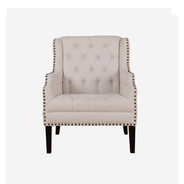 Andrew Martin Bassett Chair. Product Height: 97 (cm) Product Width: 77 (cm) Product Depth: 80 (cm) Seat Height: 50 (cm) Arm Height: 65 (cm) Weight: 22 (kg)