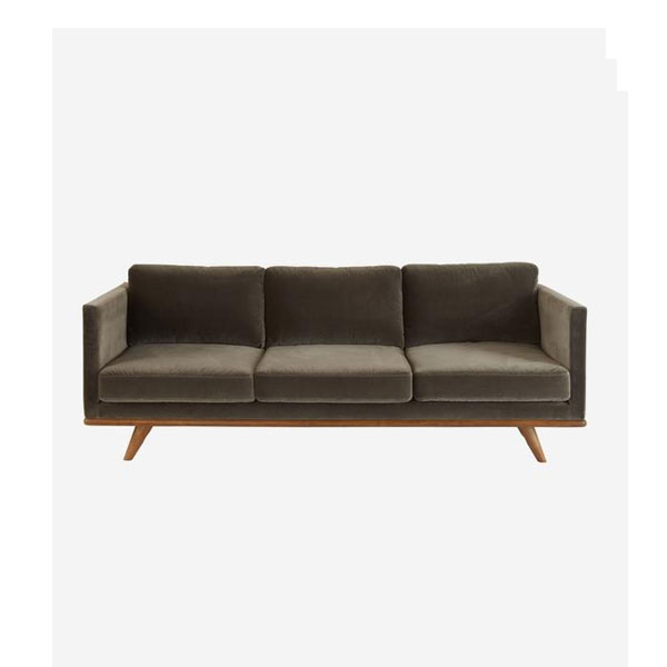 Andrew Martin - Westwood Concrete Sofa. Product Height:78(cm) Product Width:208 (cm) Product Depth:89 (cm) Seat Height:40 (cm) Arm Height:64.5 (cm)