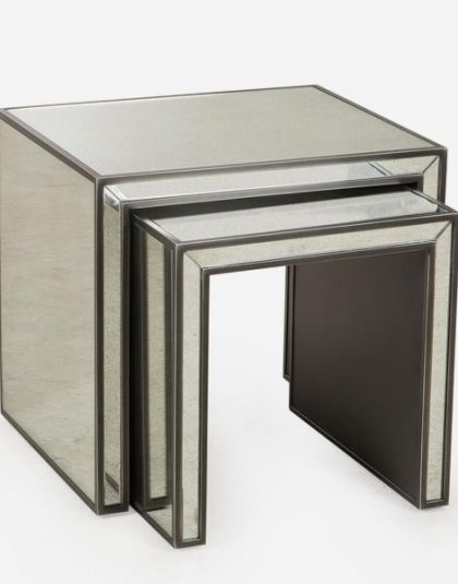 Andrew Martin: Agatha Side Table. Perfect for any setting. Product Height: 56 (cm) Product Width:62 (cm) Product Depth: 52 (cm) Weight: 55 (kg)