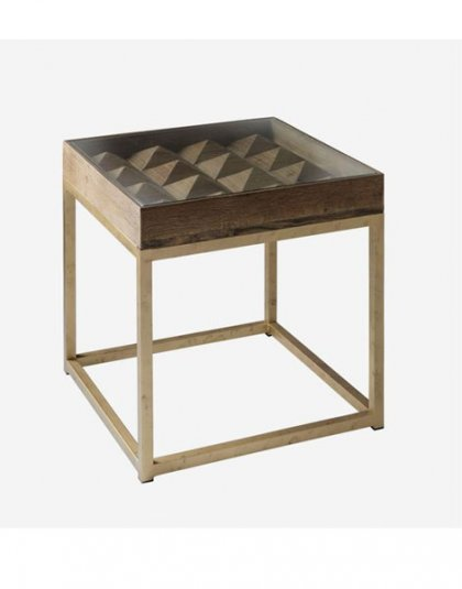 Andrew Martin Alpine Side Table. This unique piece is perfect for those smaller spaces. Product Height: 56 (cm) Product Width:56 (cm) Product Depth: 56 (cm)