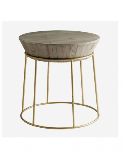 Balzac Side Table. This unique piece is just perfect for those smaller spaces, Product Height: 56 (cm) Product Diameter: 55 (cm)