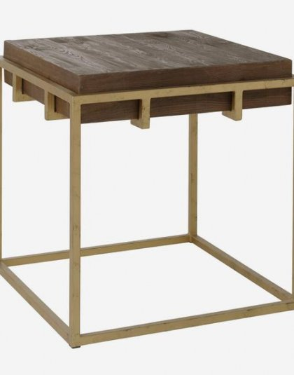 Breuer Side Table. This unique piece is perfect for those smaller spaces. Product Height:61 (cm) Product Width:60 (cm) Product Depth:60 (cm)
