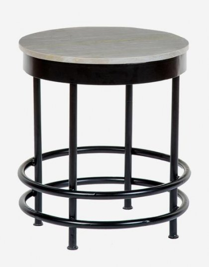 Andrew Martin: Hawk Side Table. Perfect for any setting. Product Height: 47.5 (cm) Product Diameter: 40 (cm) Weight: 8 (kg)
