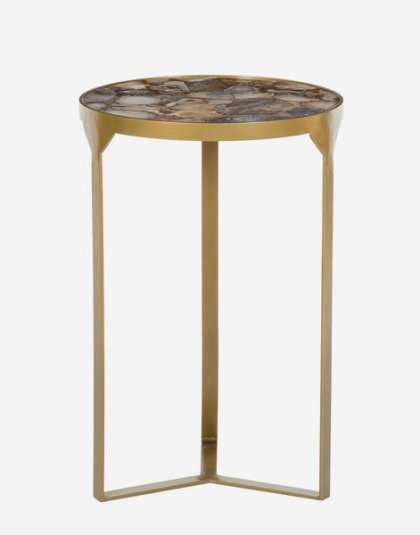 Andrew Martin: Ida Side Table.Perfect in any setting. Product Height:56 (cm) Product Width: 36.5 (cm) Product Depth: 36.5 (cm) Weight:9.1 (kg)