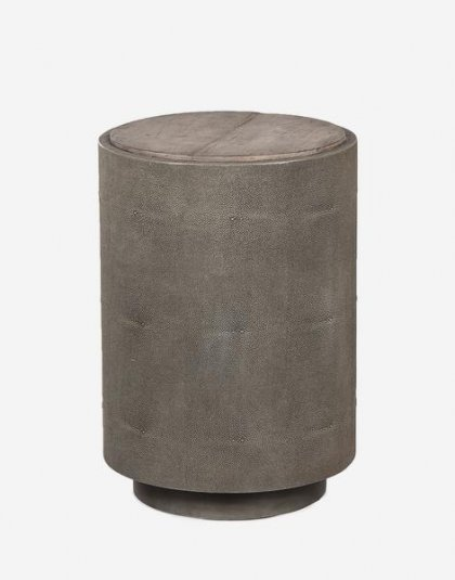 Andrew Martin: Jude Side Table. Perfect for the Bedroom Setting. Product Height:63 (cm) Product Diameter:43 (cm) Weight:23 (kg)