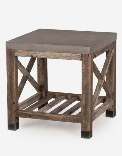Andrew Martin: Percival Side Table. Perfect for any setting. Product Height: 60 (cm) Product Width:60 (cm) Product Depth:60 (cm) Weight:22 (kg)