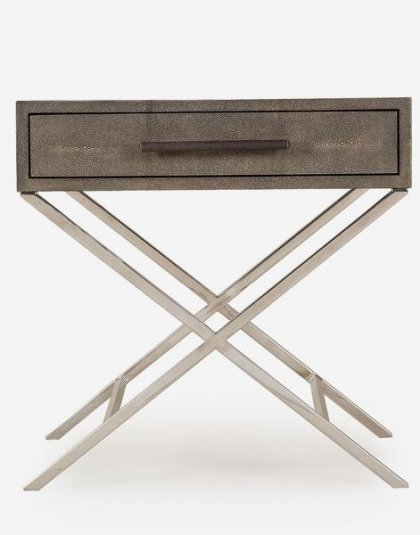Andrew Martin : Randolph Side Table. Product Height: 61 (cm) Product Width: 61 (cm) Product Depth: 51 (cm) Weight: 18 (kg)