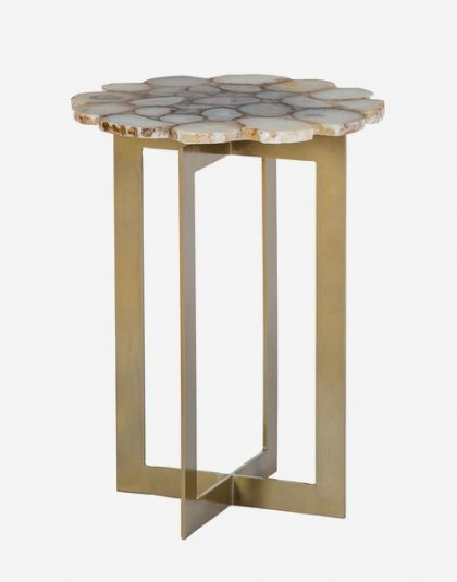 Andrew Martin: Rosalie Side Table. Product Height: 53 (cm) Product Width: 40 (cm) Product Depth:40 (cm) Weight:10.85 (kg)