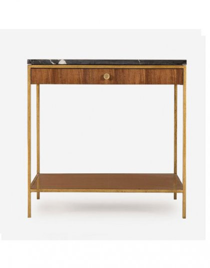 Rufus Side Table - Andrew Martin. Perfect for those small spaces. Product Height: 61 (cm) Product Width: 61 (cm) Product Depth: 61 (cm) Weight:34 (kg)