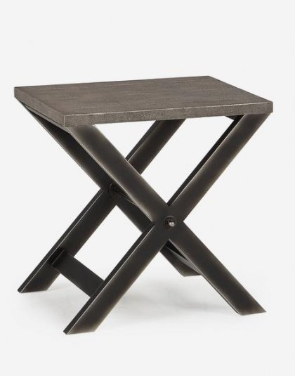 Andrew Martin: Stanley Side Table. Perfect in any setting. Product Height:60 (cm) Product Width:60 (cm) Product Depth:45 (cm) Weight:13 (kg)