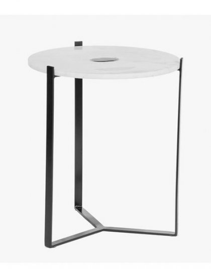 Zion Side Table Product. This unique piece is perfect for those Smaller Spaces. Height:53.5 (cm) Product Width:46 (cm) Product Depth:46 (cm) Weight: 9.9 (kg)