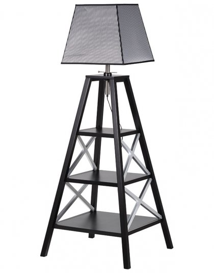 3 Shelf Book Storage Lamp. Dimensions: H: 1800mm W: 730mm D: 730mm