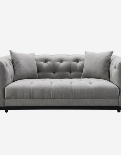 The Fiorella is a Chesterfield style 2-seater sofa with a contemporary swish. Height: 72.5 (cm) Width: 170 (cm) Depth: 98 (cm)