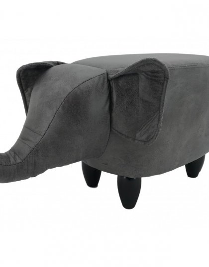 The Elephant Footstool is just a great fun addition to any room. Use it as a fun footstool or even a smaller chair for our little clients.
