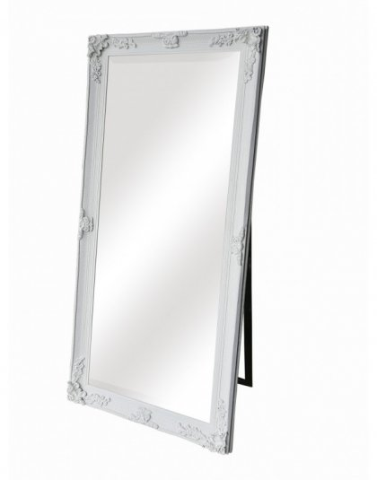 """Dressing Mirror-White . A stunning full-length design, painted in with a flat white finish, perfect for the dressing table. Dimensions: 69"""" x 30"""""""