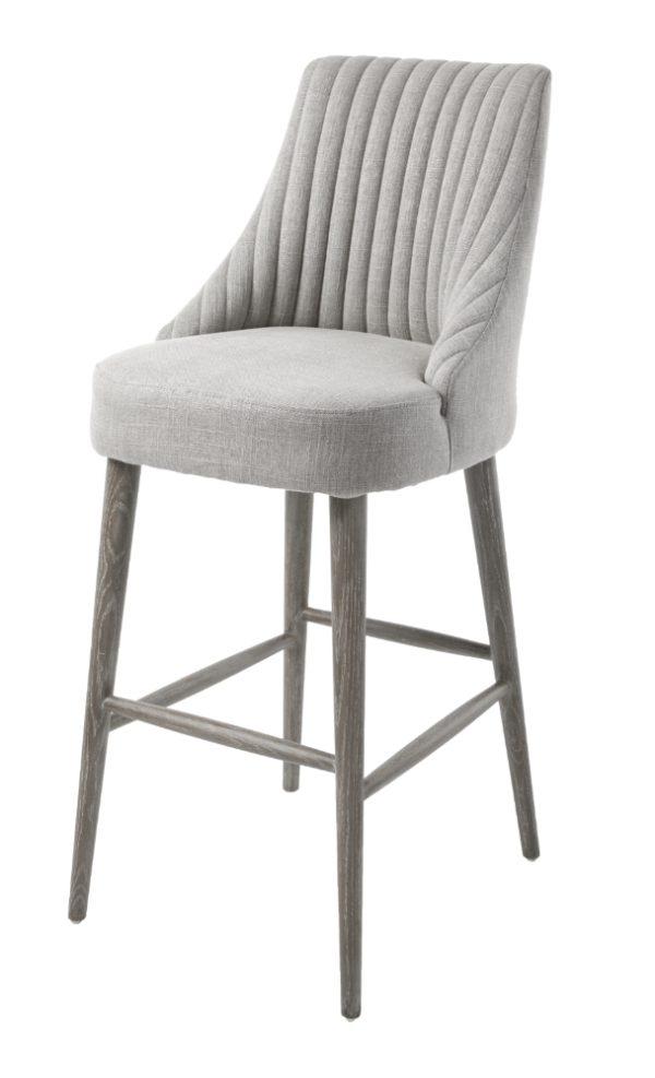 Cool Grey Linen Bar Stools Dailytribune Chair Design For Home Dailytribuneorg