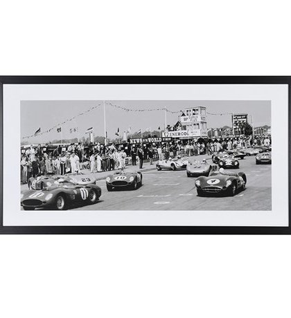 Brighten up your room with this Aston Martin Race Picture. This Piece fits perfectly in an already contrasting setting. Product Information: Dimensions: H: 540mm W: 1050mm