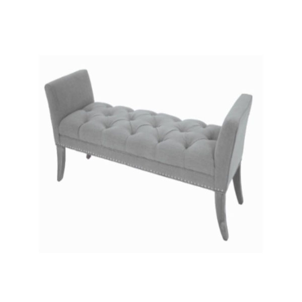 The Appignano Bench has a detail and style that gives it its feminine good looks. Product Information: H: 64 cm W: 140cm D: 45cm