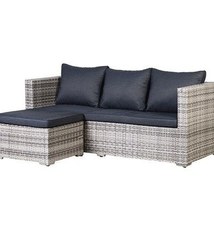 Do you see this Woven Outdoor Corner Sofa in your garden? The piece is just a great addition to any patio or decking. Enjoy the summer in style.