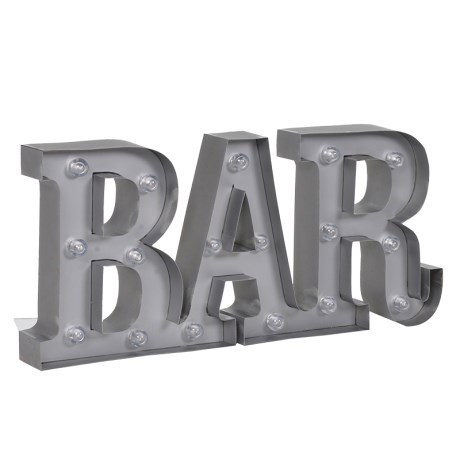 Brighten up your Bar Area with this LED Lit Bar Sign. A really fun piece to brighten those darker areas. Dimensions: H: 200mm W: 450mm D: 50mm