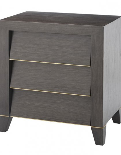 The Radway, 3 Drawer Bedside is the perfect addition to the bedroom setting.The piece has an overall unique and sleek design which fits almost any setting.