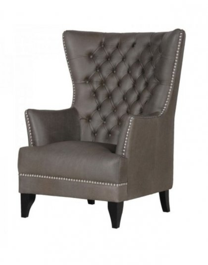 See this Leather Tripoli Club Chair in your home? This piece is the perfect addition to an already completed living space. H: 1170mm W: 830mm D: 915mm