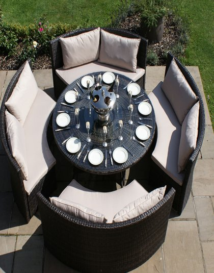 See the Dallas Sofa Set in your outdoor furniture collection? The Dallas Sofa Set is the perfect blend of sofa and dining sets.