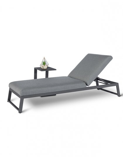See the Allure Sunlounger in your outdoor furniture collection?This lounger is as comfortable as it is fuss-free. Perfect for any outdoor space.
