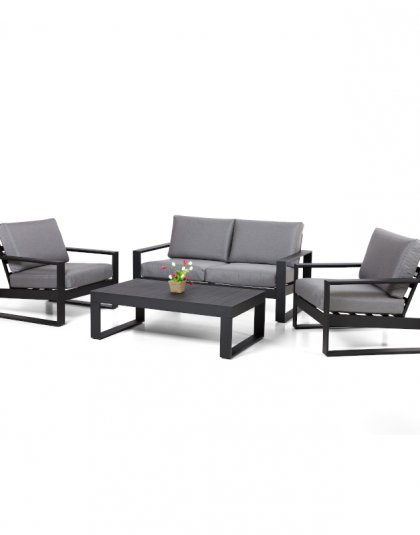 See the Amalfi 2 Seat Sofa Set in your outdoor furniture collection? this complete set is everything you need to entertain guests over the summer months.