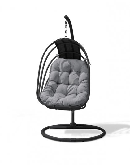 The Amalfi Metal Hanging Chair is the perfect garden getaway,The suspended chair creates a gentle motion, thus adding further comfort and relaxation.