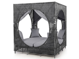 The Bali is certain to add luxury and comfort to your garden and is perfect for chilling with friends or for a secret hideaway.
