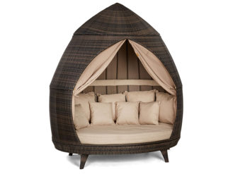 See the Casbah Daybed in your outdoor furniture collection? The Casbah Daybed Offers something for all occasions and is perfect for chilling with friends.