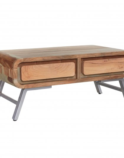 See this Aspen Coffee Table in your home? this range offers a new dimension to furniture by combining the solid hardwood with reclaimed metal.