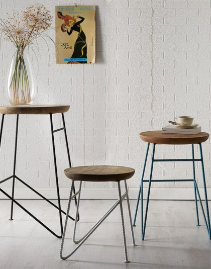 See this set of Large Aspen Stools in your home? This range offers a new dimension to furniture, which is eco-friendly, modern and versatile.