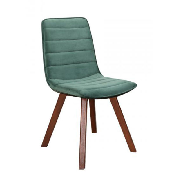 See the Lewis Chair in your home? This piece comes upholstered in a Duck Egg Blue fabric with Wooden legs for support. Width: 48cm Depth: 60cm Height: 94cm