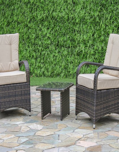See the Texas 3 Piece Lounge Set in your outdoor furniture collection? The Set is designed to give maximum comfort whilst maintaining the style we love.