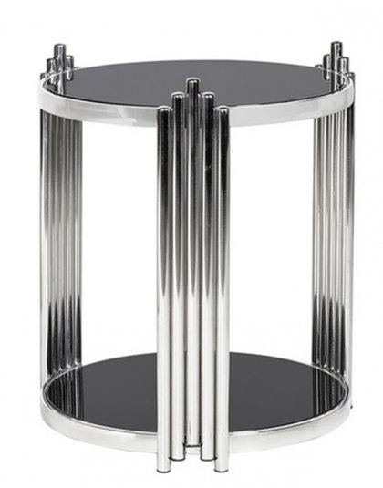 See this Round Deco End Table in your home?This elegant piece is just perfect as an extra addition to any setting .Dimensions: H: 600mm W: 520mm D: 520mm