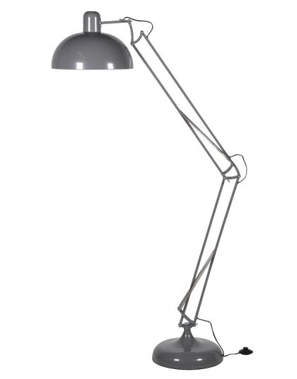 See this Large Coloured Floor Angle Lamp in your home? This piece is the perfect fun addition to any home. Dimensions: H: 1850mm Dia: 360mm