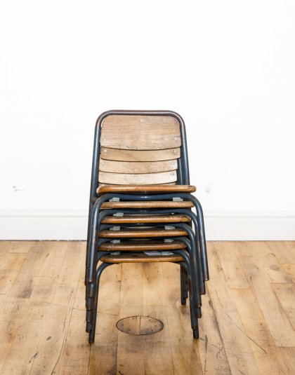 See this Stack Of Vintage School Chairs in your furniture collection?Have a blast from the past and own a set of Vintage School Chairs