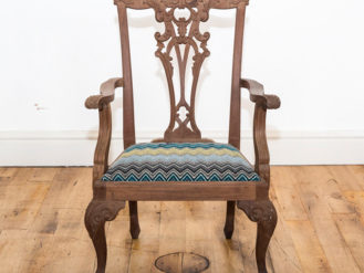 See this Bespoke Wooden Dining Chair in your home?This piece is the perfect addition to any dining collection. Product Information:Ex Display