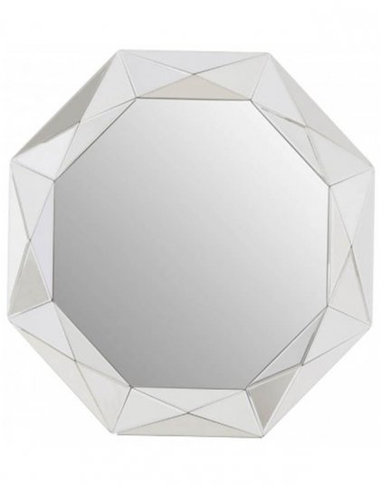 See this Gaho Wall Mirror in your home? The Gaho is a sleek statement mirror that styles well with the contemporary geometric trend.
