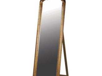 See this Antiqued Gold Dressing Mirror in your homes furniture collection? This piece stands tall in any setting whilst exuding an elegant design.