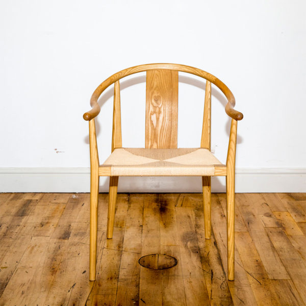 See this Bespoke Wooden Arm Chair in your home? This piece is the perfect addition to any wooden interior. The solid hardwood frame adds that extra support.